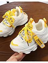 Недорогие -Девочки Удобная обувь Полиуретан Спортивная обувь Большие дети (7 лет +) Желтый / Оранжевый Весна