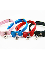 cheap -Dog Cat Pets Collar Portable Retractable Soft Cute and Cuddly Adjustable Flexible Durable Casual / Daily Classic Christmas PU Leather Beagle Bulldog Shiba Inu Pug Bichon Frise Schnauzer Purple Red 1pc