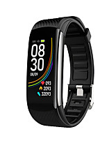 cheap -C6S Unisex Smart Wristbands Android iOS Bluetooth Waterproof Heart Rate Monitor Blood Pressure Measurement Sports Calories Burned Stopwatch Pedometer Call Reminder Sleep Tracker Sedentary Reminder