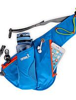 cheap -Running Belt Fanny Pack Belt Pouch / Belt Bag for Running Hiking Outdoor Exercise Traveling Sports Bag Adjustable Waterproof Portable with Water Bottle Holder Nylon Men's Women's Running Bag Adults