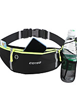 cheap -Running Belt Fanny Pack Belt Pouch / Belt Bag for Running Hiking Outdoor Exercise Traveling Sports Bag Adjustable Waterproof Portable Lycra Spandex Men's Women's Running Bag Adults