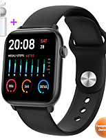 cheap -JSBP P66 Women Smartwatch Body Temperature Test Blood Oxygen Blood Pressure Epidemic Health Monitoring BT Sports Outdoor Waterproof for Android Samsung / Huawei / Xiaomi iOS Apple Mobile Phone