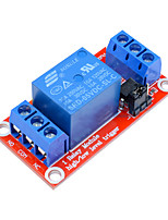 cheap -1 Channel Relay Module DC 5V High and Low Level Trigger Relay Control With Optocoupler Red