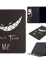 cheap -Case For Apple iPad Air / iPad 4/3/2 / iPad Mini 3/2/1 Wallet / Card Holder / with Stand Full Body Cases Word / Phrase PU Leather For iPad 10.2 2019/New Air 10.5 2019/Pro 11 2020/Mini 4/Mini 5/Pro 9.7