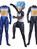 cheap -Inspired by Dragon Ball Vegeta Anime Cosplay Costumes Japanese Cosplay Suits Catsuit For Men's Boys'