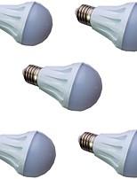 cheap -5pcs 3 W LED Globe Bulbs 300 lm E14 E26 / E27 15 LED Beads SMD 5730 Warm White White 9-30 V