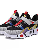 cheap -Boys' / Girls' Comfort PU / Elastic Fabric Trainers / Athletic Shoes Big Kids(7years +) Running Shoes Black / Pink / Blue Spring / Color Block
