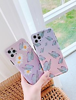 cheap -Case For Apple iPhone 11 / iPhone 11 Pro / iPhone 11 Pro Max Shockproof Back Cover Butterfly / Flower TPU