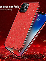 cheap -Soft TPU Case For iPhone SE 2020 / 11 / 11Pro / 11 Pro Max / X/ XS / XR / XS MAX / 8Plus / 8 / 7Plus / 7 / 6Plus / 6 / 6S Plus / 6s Electroplate Bling Color Soft Gel Case Cover Coque