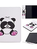 cheap -Case For Apple iPad Air / iPad 4/3/2 / iPad Mini 3/2/1 Wallet / Card Holder / with Stand Full Body Cases Panda PU Leather For iPad 10.2 2019/New Air 10.5 2019/Pro 11 2020/Mini 4/Mini 5/Pro 9.7