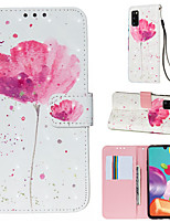 cheap -Case For Samsung Galaxy A70E A11 Phone Case PU Leather Material 3D Painted Pattern Phone Case for A50S A91 A81 A71 A41 A01 A20S A10S A10 A20 A30 A40 A50 A70 A7 2018