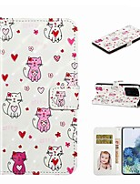 cheap -Case For Samsung Galaxy S20 / Galaxy S20 Plus / Galaxy S20 Ultra Wallet / Card Holder / with Stand Full Body Cases Multi-cat PU Leather / TPU for Galaxy A51 / A71 / A80 / A70 / A50 / A30S / A20