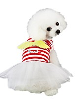 cheap -Dog Dress Dog Clothes Red Pink Costume Husky Labrador Alaskan Malamute Polyester Angel Sweet Style Cosplay XS S M L XL