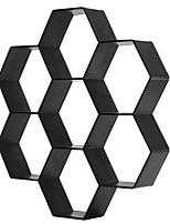 Недорогие -фантазии гексагональной пластиковый пол модель цвет бетон цемент напольная плитка дорога камень мощение культура камень плесень