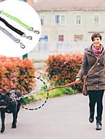 cheap -Dog Leash Reflective Retractable Foldable Soft Training Running Durable Solid Colored Classic Nylon Corgi Beagle Bulldog Shiba Inu Cocker Spaniel Pug Black Green 1pc