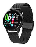 cheap -DT NO.1 DT88 Women's Smartwatch Android iOS Bluetooth Waterproof Heart Rate Monitor Blood Pressure Measurement Calories Burned Health Care ECG+PPG Timer Pedometer Alarm Clock Calendar