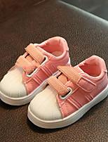 Недорогие -Мальчики Удобная обувь Синтетика Спортивная обувь Большие дети (7 лет +) Белый / Черный / Розовый Весна