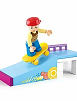 cheap -Building Blocks Educational Toy 23 pcs Skate Cartoon compatible Plastic Shell Legoing Exquisite Hand-made Decompression Toys DIY Boys and Girls Toy Gift / Kid's