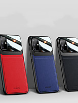 cheap -Case For Samsung Galaxy  S20/S20 Plus/S20 Uitra/S10/S10 Plus/S10E/S9/S9 Plus/Note 10/Note Plus/Note9 Shockproof Back Cover Solid Colored PU Leather / TPU