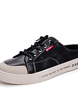 cheap -Men's Spring & Summer / Fall & Winter Classic / British Daily Outdoor Sneakers Walking Shoes Canvas Breathable Wear Proof White / Black / Beige