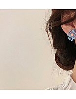 cheap -Women's Earrings Classic Flower Love Classic Vintage Earrings Jewelry White / Yellow / Orange For Gift Daily 1 Pair