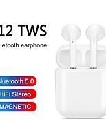 Недорогие -Оригинальные i12 tws беспроводные наушники Bluetooth 5.0 спортивные спортивные наушники с сенсорным экраном портативные наушники