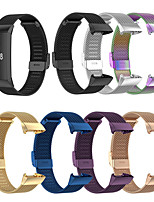 cheap -Stainless Steel Watchband Watch Strap for Fitbit Charge 4  Sports Watch Replacement Wrist Strap Metal Mesh Bracelet Watch Band for  Fitbit Charge 4 / Fitbit Charge 3