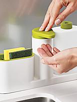 Недорогие -ванная комната раковина дезинфицирующее средство для рук мыло для кухни кухонная раковина моющее средство подставка с губкой для хранения организатор ванной