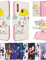 cheap -Case For Samsung Galaxy Galaxy S20 / Galaxy S20 Plus / Galaxy S20 Ultra Wallet / Card Holder / with Stand Full Body Cases Umbrella PU Leather / TPU for Galaxy A51 / A71 / A70E / A41 / A11 / A01 / A21