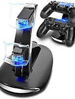 cheap -Dual USB Charge Dock For Sony Playstation 4 Controller Gamepad Handle Cradle Double Charging Charger For PS4 Games Accessories