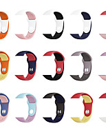 cheap -Watch Band for Apple Watch Series 5/4/3/2/1 Apple Sport Band / Classic Buckle Silicone Wrist Strap