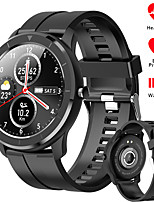 cheap -696 QWT6 Unisex Smartwatch Android iOS Bluetooth Waterproof Heart Rate Monitor Blood Pressure Measurement Sports Information Pedometer Call Reminder Activity Tracker Sleep Tracker Sedentary Reminder