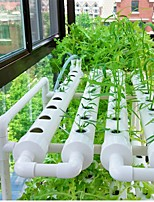 cheap -Tile Quads Hydroponic Plant Equipment Planter Balcony Vegetable Soilless Cultivation Soilless Cultivation Pipes
