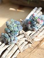 Недорогие -20.5см мягкий резиновый рис сочные суккуленты мори женский поддельные цветок ручной работы 1 палка