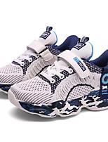 Недорогие -Мальчики Удобная обувь Трикотаж / Эластичная ткань Спортивная обувь Большие дети (7 лет +) Беговая обувь Черный / Золотой / Бежевый Лето / Контрастных цветов