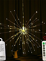 cheap -Festival Stellar Ball Pendant String Lights 120 Leds DIY Fireworks Copper Fairy Garland Christmas Lights Outdoor Twinkling Light