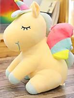 Недорогие -M-002 Принцесса единорог Креатив Подушки Мягкие игрушки гоблины Плюшевая кукла Ручная работа Китайский дизайн Фланель Все Идеальный подарок для малышей и малышей