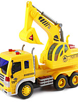 cheap -1:16 Plastic Shell Construction Truck Set Crane Excavator Sprinkler Truck Toy Truck Construction Vehicle Simulation Unisex Kids Car Toys