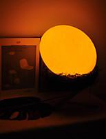Недорогие -BRELONG® Oval Shape Декоративное освещение Ночные светильники Перезаряжаемый / Меняет цвета / Милый Датчик тела Пасха / Рождество USB 1шт