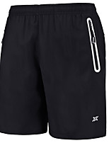 "cheap -Men's Hiking Shorts Summer Outdoor 10"" Loose Breathable Quick Dry Sweat-wicking Comfortable Cotton Shorts Bottoms Camping / Hiking Hunting Fishing Black Blue L XL XXL XXXL 4XL / Wear Resistance"