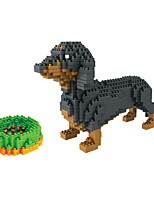 cheap -Building Blocks 900+ Dog compatible Molded ABS Legoing DIY Animal Design Boys and Girls Toy Gift