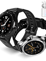 cheap -JSBP E1  Women Smart Bracelet Smartwatch BT Fitness Equipment Monitor Waterproof with TWS Bluetooth Wireless Headphones Music Headphones for Android Samsung/Huawei/Xiaomi iOS Mobile Phone