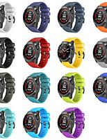 Недорогие -ремешок для часов для fenix 5 plus garmin sport band силиконовый ремешок