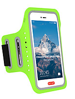 cheap -Phone Armband Running Armband for Running Hiking Outdoor Exercise Traveling Sports Bag Adjustable Waterproof Portable Lycra® Men's Women's Running Bag Adults