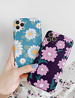 cheap -Case For Apple iPhone 11 / iPhone 11 Pro / iPhone 11 Pro Max Shockproof Back Cover Cartoon / Flower PC