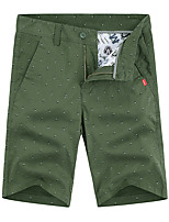 """cheap -Men's Hiking Shorts Hiking Cargo Shorts Summer Outdoor 10"""" Loose Breathable Quick Dry Sweat-wicking Comfortable Cotton Shorts Bottoms Camping / Hiking Hunting Fishing Army Green Khaki Dark Blue 28 29"""