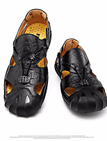 cheap -Men's Summer Outdoor Sneakers PU Non-slipping Light Brown / Black / Brown