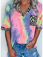 cheap -Summer Tie-Dye T-shirt