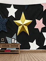 cheap -Pentagram Digital Printed Tapestry Decor Wall Art Tablecloths Bedspread Picnic Blanket Beach Throw Tapestries Colorful Bedroom Hall Dorm Living Room Hanging