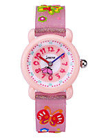 cheap -Kids Sport Watch Automatic self-winding Water Resistant / Waterproof Analog Cartoon Halloween - White Blushing Pink